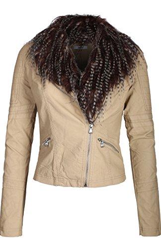 Silver Bike Leather Jacket - 8