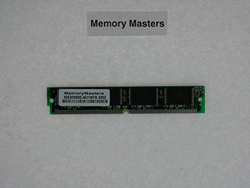 - MEM3600-4U16FS 16MB Flash Memory SIMM for Cisco 3600 Series(MemoryMasters)