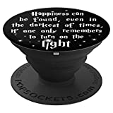 PopSockets: Happiness In Dark Times - Wizard Gift - PopSockets Grip and Stand for Phones and Tablets