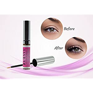 Eyelash & Eyebrow Growth Serum for Longer Healthier Thicker Lashes in 60 Days! Non-irritation Treatment With Conditioner Enhances Regrowth + Boost Sparse Thinning & Over Plucked Brows (10ml)