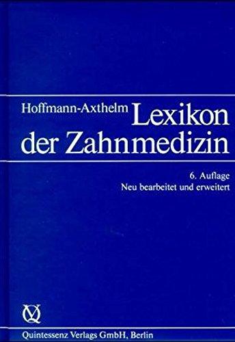 Lexikon der Zahnmedizin