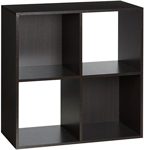 - OneSpace 4-Cube Organizer, Espresso