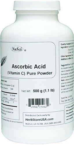Ascorbic acid taste