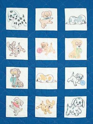 Stamped Nursery Quilt Blocks 9X9 ()