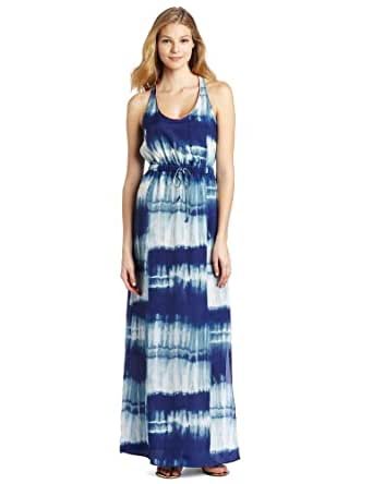 Twelfth St. by Cynthia Vincent Women's Racerback Maxi Dress, Tye Dye, Medium
