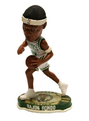 Forever Collectibles Boston Celtics Rajon Rondo #9 official NBA Home Bobblehead