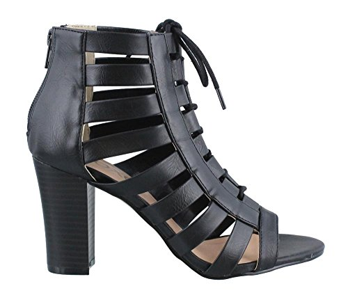XOXO Women's Beckie Heeled Sandal