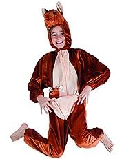 Boland - Kostuum pluche dier kangoeroe, bruin, max. 1,40 m, 88212