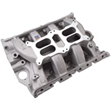 Edelbrock 7505 RPM Air-Gap Dual-Quad FE Intake Manifold Non-EGR1500-6500rpmFord FE 390/428 Will Not Fit 427 Ford Hi-riser And Tunnel Port Engines RPM Air-Gap Dual-Quad FE Intake Manifold