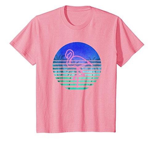 Pink Flamingo T-Shirt; Classic Vintage Christmas Gift