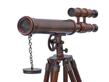 Freistehend antiker kupfer griffith astro teleskop cm