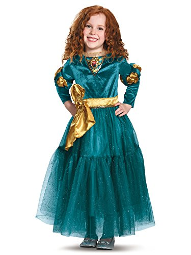 Brave Halloween Costume (Merida Deluxe Disney Princess Brave Disney/Pixar Costume, X-Small/3T-4T)