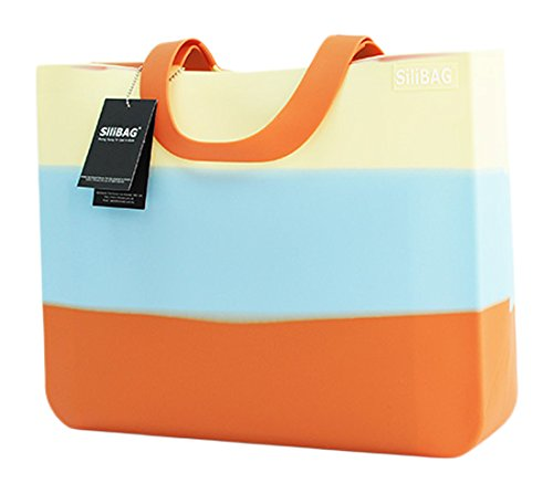SiliBAG(シリバッグ) 【国内正規品】 Multi-Color マルチカラー Horizontal B01N2LC6JM Orange  Orange