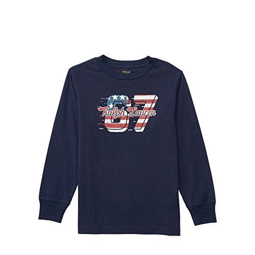 Polo Ralph Lauren Toddler's Graphic T-Shirt Navy 4/4T