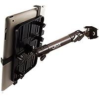 The Joy Factory Unite Universal Carbon Fiber Car/Truck Headrest Mount for 7-11 Tablets (MNU105)