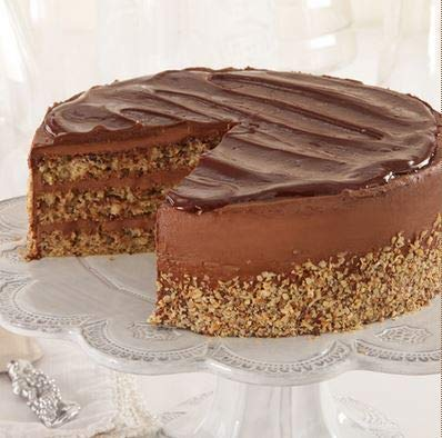 Sweet Street Gluten Free Nutella Iced Chocolate Nut Torta 3.125 lb (14 Slice) Pack of 2 by Sweet Street Frozen (Image #2)