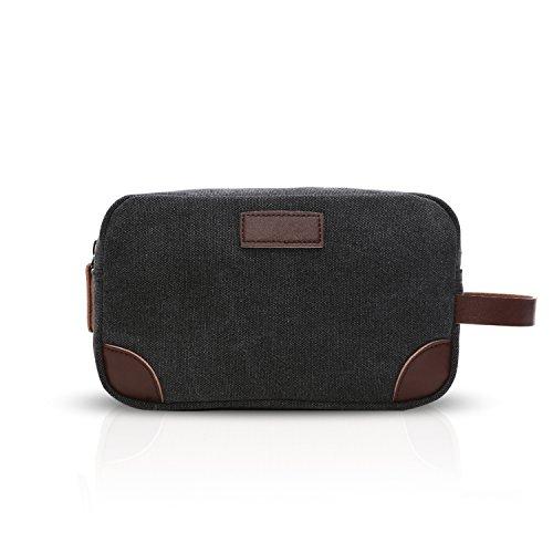 de Bolso muñeca Clutch Hombre Fitness Mujer Business Outdoor Negro Bag Embrague Lienzo FANDARE Moda Transpirable zBqPw5vw