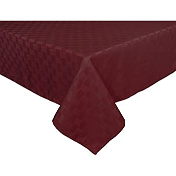 Bardwil Reflections Spill Proof Oblong / Rectangle Tablecloth, 60 Inch X 84  Inch