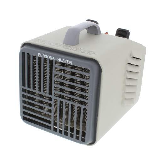 Comfort Zone CZ707 1500 Watt Compact Utility Heater, Gray
