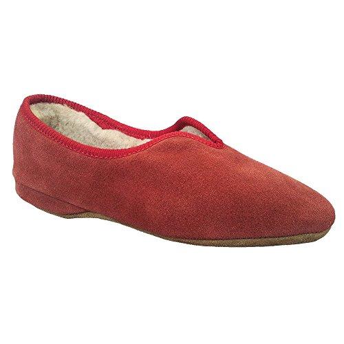 Womens Slip Belinda Ciliegia Pantofole On qOSF6