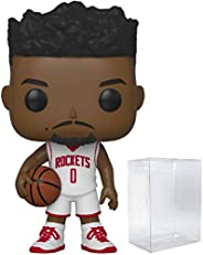 Russell Westbrook Houston Rockets White Jersey #70 Pop Sports NBA Action Figure (Bundled with Pop Protector to