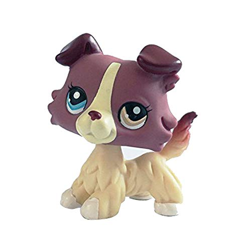 Sonmer Animal Pet Collie Dog Collection Child Girl Boy Figure Toy -