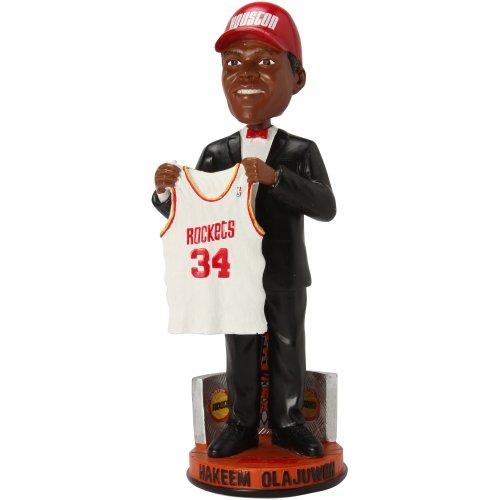 NBA Houston Rockets Olajuwon h. # 34 Legends # 1ドラフトPick Bobble Figurine ,レッド