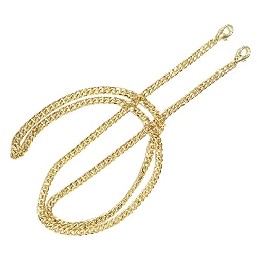 ONBLUE BL-G 6MM Width Chain Strap Handbags Replacement Chains for Wallet Clutch Satchel Tote Bag 47