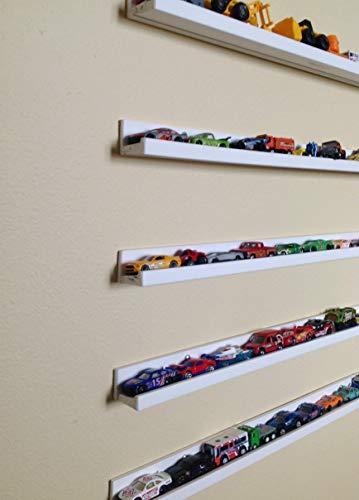 Hot Wheels/Box Cars Shelves Storage (Set of 5) Box cars Storage Shelves, Box and Picture Frames Display Shelves, Toy Cars Storage Shelves, Display Shelf for Matchbox Cars
