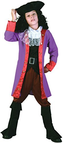 Bristol Novelty CC995 Pirate Hook Costume, Small, Approx Age 3 -5 Years, Pirate Hook (S) ()