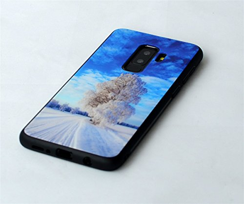 sans 9H Snow Housse Cover avec S9 Charge dureté de Forte Nouveau Case inShang Housse Samsung Verre trempé Fil d'impact Mince and 2018 Superbe Coque Résistance Samsung de Conception Galaxy S9 ice Galaxy 7qHCp7YOw