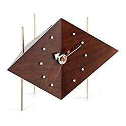 Vitra Diamond Desk Clock by George Nelson