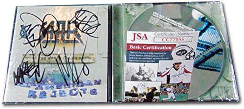 The All American Rejects Band Signed Autographed CD Booklet JSA CC77055