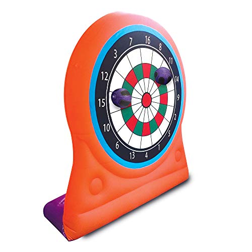 Magic Time International Inflatable Self Sticking Dart Board Soccer Target Game