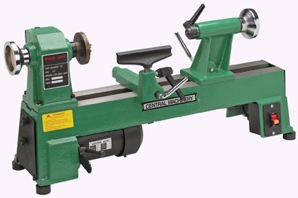 5 Speed Bench Top Wood Lathe with 3