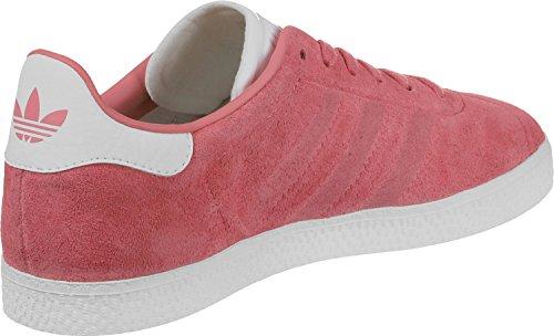 adidas Gazelle, Zapatillas Unisex Niños Rosa (Chalk Pink/chalk Pink/footwear White)