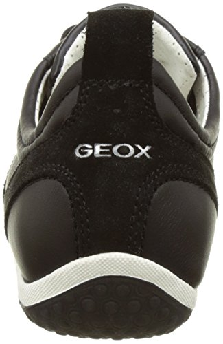 a Blackc9999 para Geox Mujer Vega Negro D Zapatillas RwwES