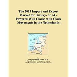 The 2013 Import and Export Market for Battery- or AC-Powered Wall Clocks with Clock Movements in the Netherlands