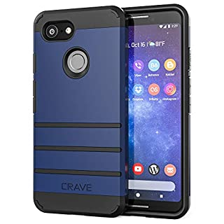 Pixel 3 Case, Crave Strong Guard Protection Series Case for Google Pixel 3 - Navy