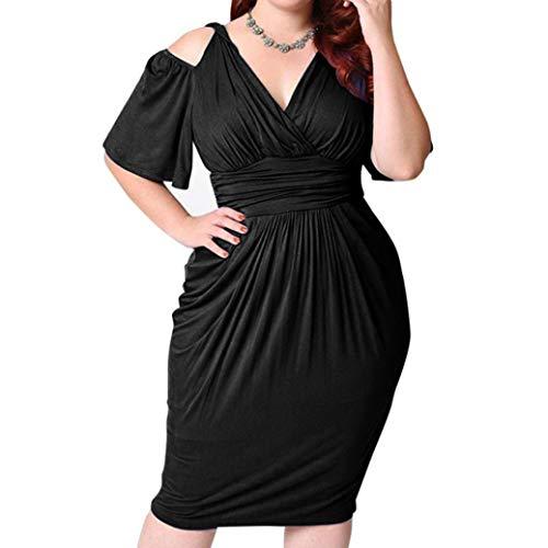 HYIRI Fashion Womens Plus Size V-Neck Strapless Sexy
