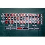 Trademark Poker Roulette Layout 36-Inch x 72-Inch