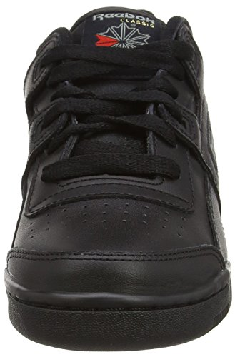 Plus Noir Reebok Garçon Basses Baskets charcoal Workout black HqwxfgRv