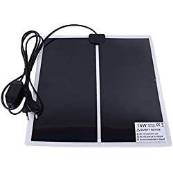 Temperature Control Products - Terrarium Heating Pad Warmer Heater Mat with Temperature Control for Reptile Tank - EU Plug - by Tini - 1 PCs