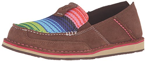 Ariat Women's Cruiser Slip-on Shoe, Palm Brown Serape, 5.5 B US