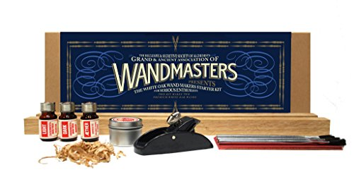 WANDMASTERS White Oak Wand Makers Starter Kit for Serious Enthusiasts. ~ Handcraft authentic real-life wands from premium White Oak. -- Each kit makes two wands. -