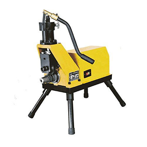 Hydraulic rolling machine steel pipe trenching Grooving Machine 2-8 inch by Tool