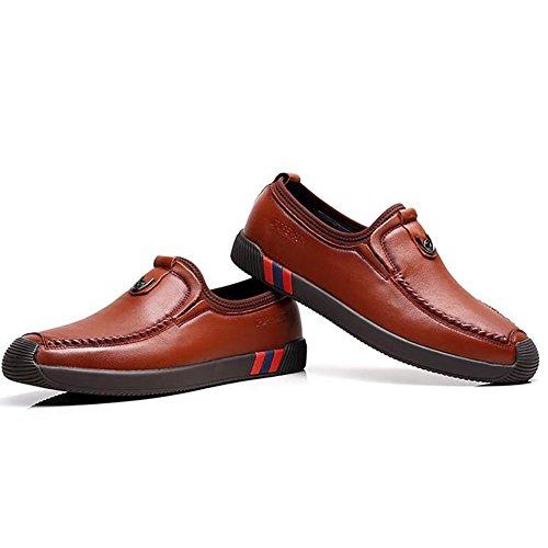 En Mocassins De Brown Pour De D'affaires Formel Ons Mode Automne Hommes Conduite Travail Printemps Chaussures Slip Chaussures De Chaussures Et 38 Cuir f4qBSSY
