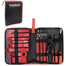 TOOLBABA 19 pcs Trim Removal Tool Set , Car Panel Removal Tool, Auto Trim Removal Tool Kit with Storage Bag