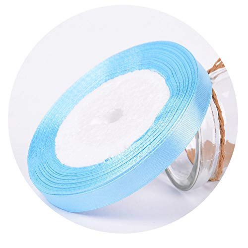 25Yards/Roll Grosgrain Satin Ribbons for Wedding Christmas Party Decorations DIY Bow Craft Ribbons Card Gifts Wrapping Supplies,17,6mm]()