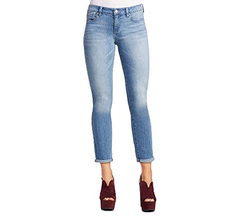 Jessica Simpson Women's Forever Rolled Cuff Skinny Jean, Curzon/Curzon, 31